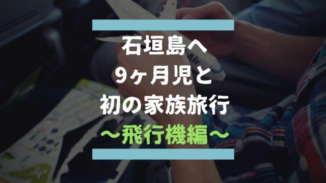 石垣島旅行飛行機編